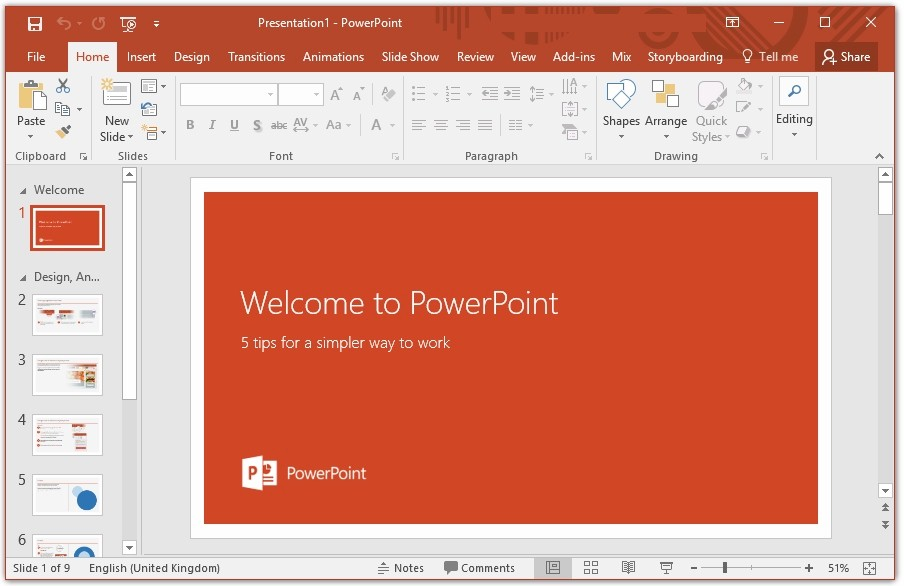 Setting up your microsoft powerpoint presentations for for How to set up a powerpoint template